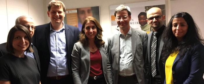 Staatsministerin Aydan Özoguz zu Besuch im LmZ