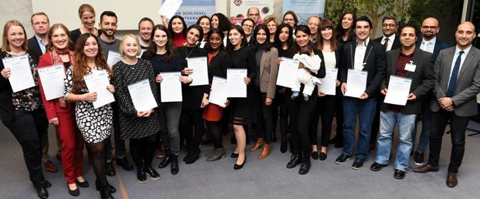 """Zertifizierungsfeier der Qualifizierungsmaßnahme """"Koordination der interkulturellen Schulentwicklung"""""""